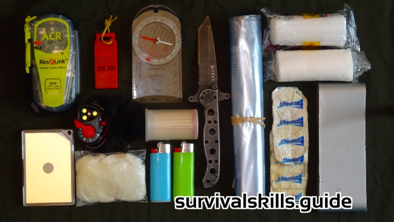 personal wilderness survival kit  for pros