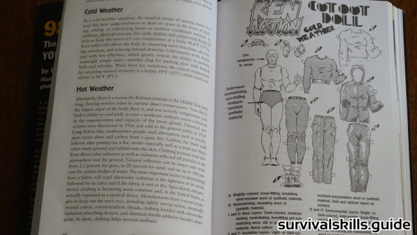 survival book 98.6 degrees clothing