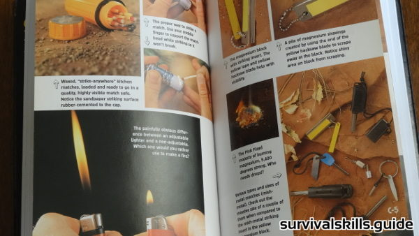 survival books 98.6 degrees fire