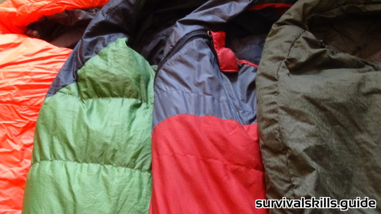 Sleeping Bag for Long Term Survival