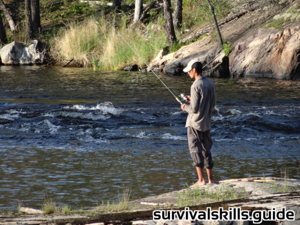 survival fishing rods