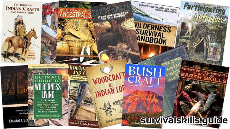 Bushcraft Books and Primitive Technology Books