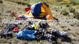 Ditch This Gear from you long term survival pack