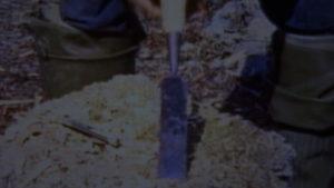 Dick Proenneke Tools flat socket chisel