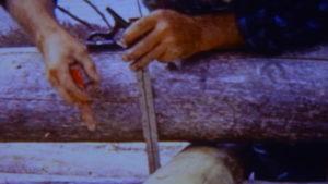 Dick Proenneke Tools carpenter pencil and combination ruler