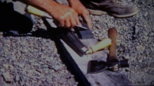 Dick Proenneke Tools Oil stone