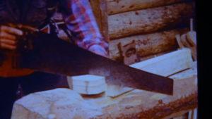 Dick Proenneke Tools short hand saw