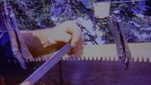 Dick Proenneke tools file, vise grip pliers, saw