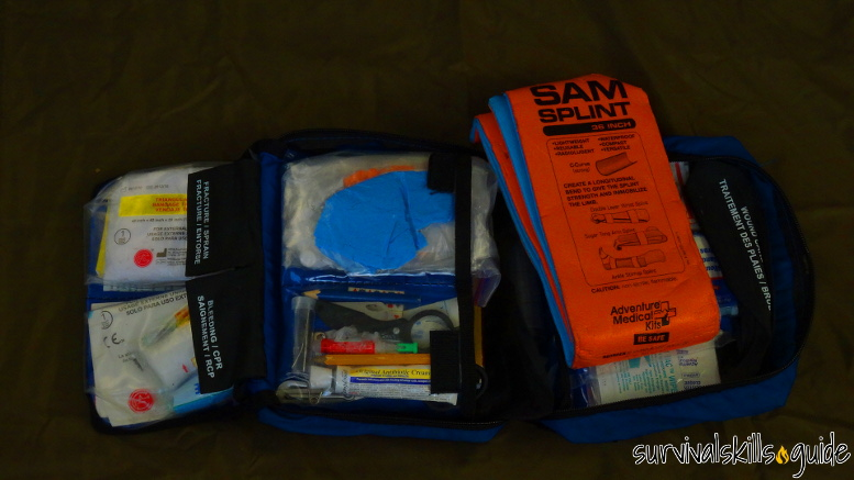 bug out bag list first aid