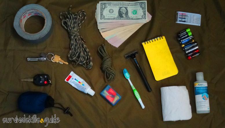 bug out bag list misc