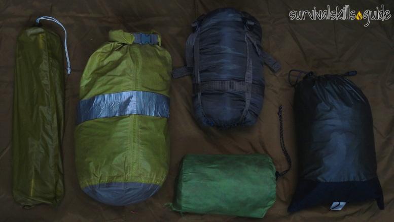 bug out bag list shelter