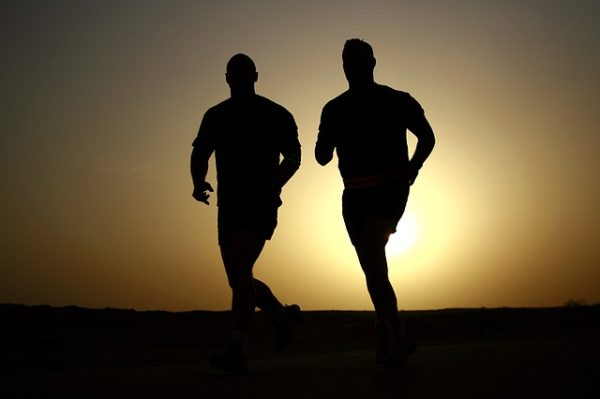 Physical fitness for survival mindset and positive attitude