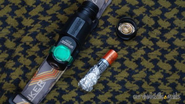 best headlamps for survival AAA vs AA