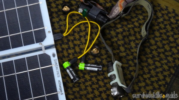 Best Headlamps for Survival and Prepping solar charger