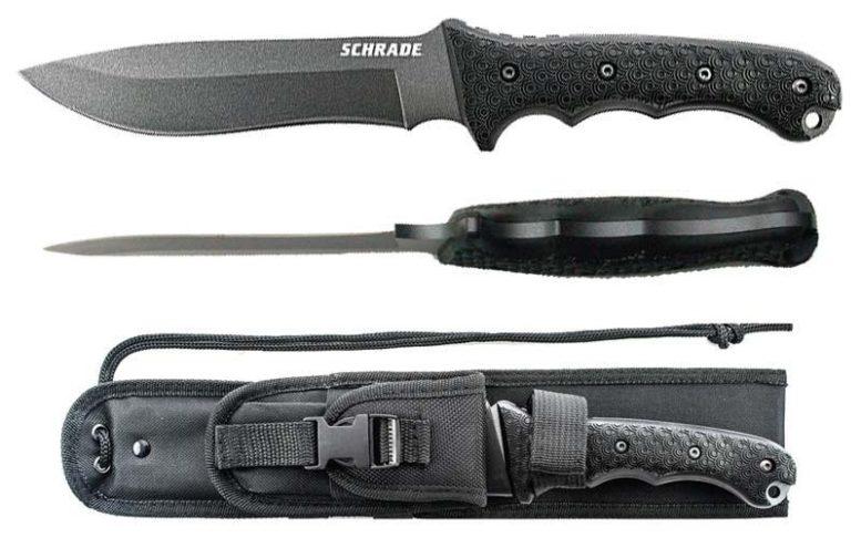 choose survival knife schrade