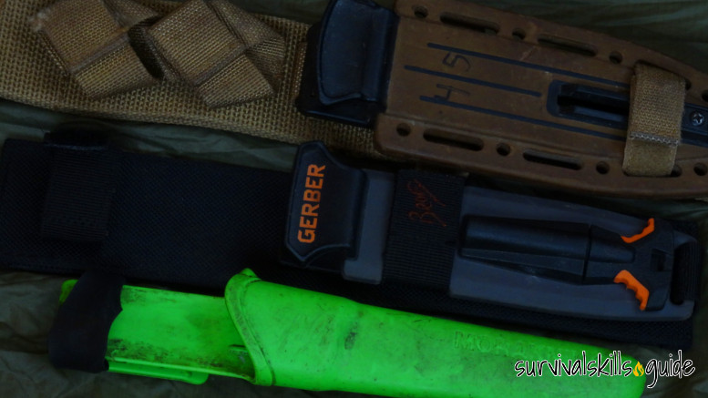 choose survival knife sheath