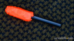 ferro rod handle custom bright color