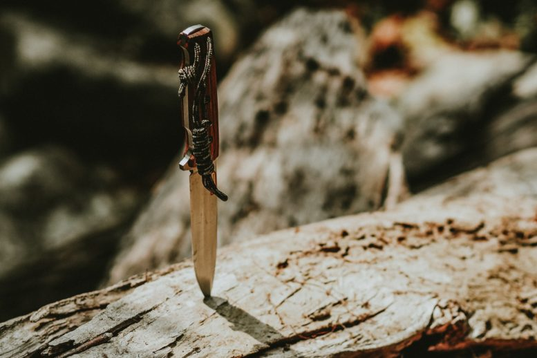Survival knife as your only survival gear