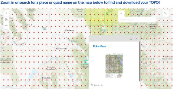 topo maps free usgs