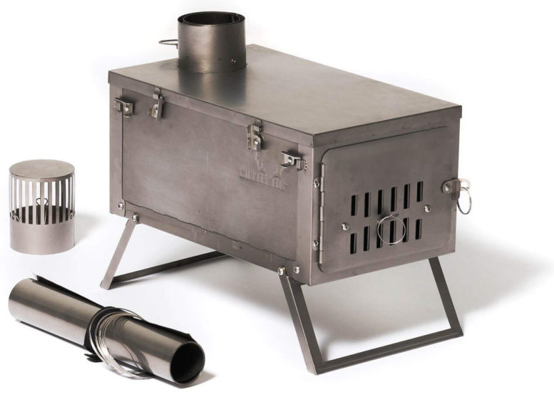 titanium wood stove hot tent