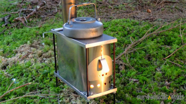 Titanium Wood Stoves For Hot Tents A Game Changer