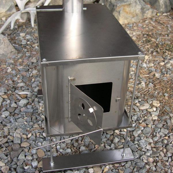 titanium wood stove ruta locura