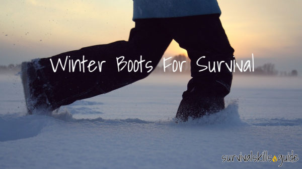 winter boots for survival