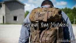 survival bag mistakes