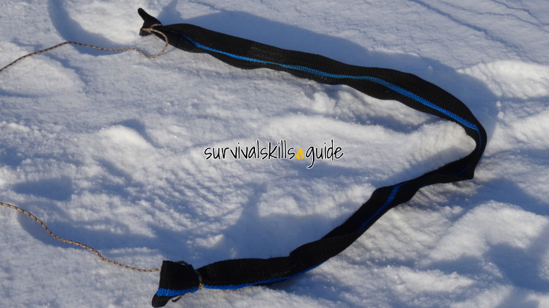 ultralight sled harness