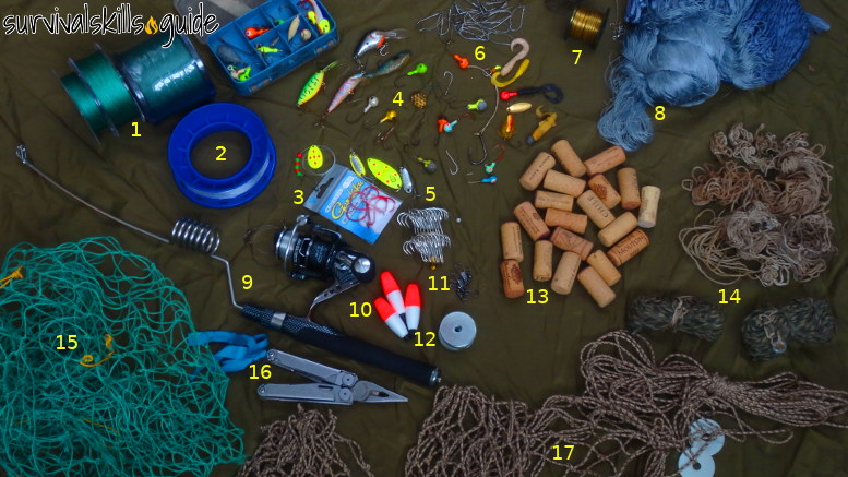 ultimate survival fishing kit