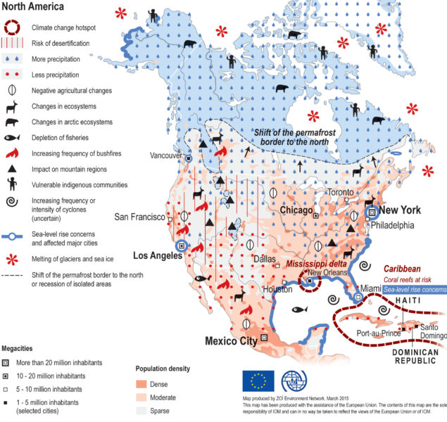 Responding to Collapse: Adaptation and Resilience climate change impacts map north america